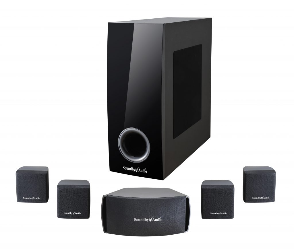Soundbyte Audio SA52 51 Surround Sound Home Theater System
